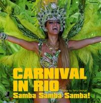Terry George - Carnival in Rio - Samba Samba Samba ! Edition trilingue français-anglais-allemand. 4 CD audio