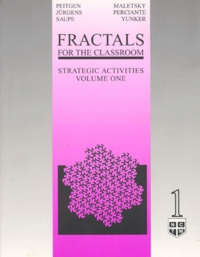 Terry Perciante et  Collectif - FRACTALS FOR THE CLASSROOM. - Volume 1, strategic activities.