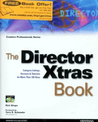 THE DIRECTOR XTRAS BOOK. CD-ROM inside, édition en anglais.pdf