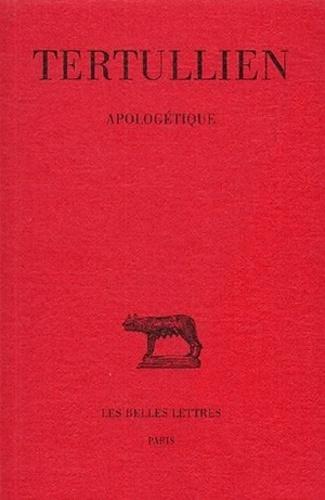 Tertullien - Apologétique.