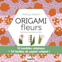 Tetsuya Gotani - Origami fleurs - 10 modèles originaux + 50 feuilles de papier origami !.