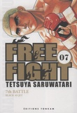 Tetsuya Saruwatari - Free Fight Tome 7 : Black as Jet.