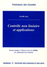 Tewfik Sari - Contrôle non linéaire et applications - Cours de l'école d'été du CIMPA de l'université de Tlemcen.
