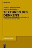 """Texturen des Denkens - Nietzsches Inszenierung der Philosophie in """"Jenseits von Gut und Böse""""."""