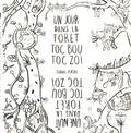 Thanh Portal - La forêt de Toc Bou Toc Zoï à colorier.