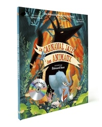 The Amazing Keystone Big Band et Taï-Marc Le Thanh - Le carnaval jazz des animaux. 1 CD audio