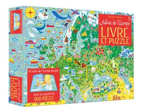 Atlas De L Europe Livre Et Puzzle