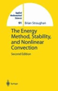 The Energy Method, Stability, and Nonlinear Convection.