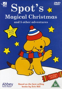 Eric Hill - Spot's - Magical Christmas and 5 other adventures, DVD Video.