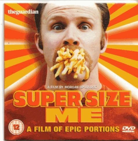 Morgan Spurlock - Super Size Me - DVD vidéo.