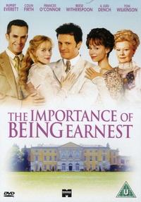 Oliver Parker - The Importance of Being Earnest - DVD vidéo.