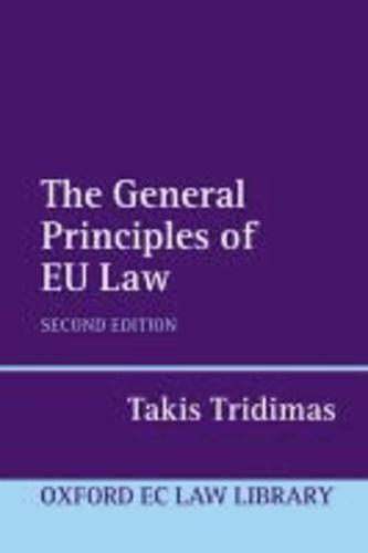 The General Principles of EU Law.