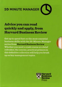 The Harvard business review - 20 Minute Manager - 10 volumes.