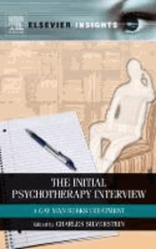 The Initial Psychotherapy Session - A Gay Man Seeks Treatment.