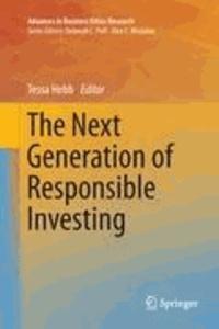 Tessa Hebb - The Next Generation of Responsible Investing.