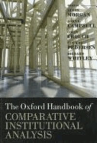 The Oxford Handbook of Comparative Institutional Analysis.