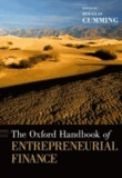 The Oxford Handbook of Entrepreneurial Finance.