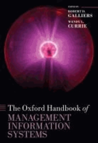 The Oxford Handbook of Management Information Systems.