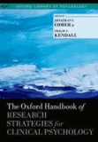 The Oxford Handbook of Research Strategies for Clinical Psychology.