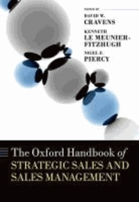 The Oxford Handbook of Strategic Sales and Sales Management.