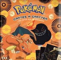 The Pokémon Company et Alexandre Debrot - Pokémon Cartes à gratter Dracaufeu - + des infos sur les pokémon, 10 cartes, 1 bâtonnet.