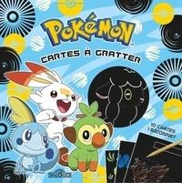 The Pokémon Company - Pokémon Cartes à gratter Galar - Avec 10 cartes, 1 bâtonnet.