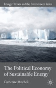 The Political Economy of Sustainable Energy.