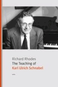 The Teaching of Karl Ulrich Schnabel.