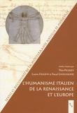 Théa Picquet et Lucien Faggion - L'Humanisme italien de la Renaissance et l'Europe.