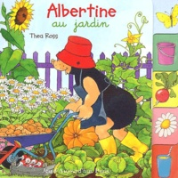 Thea Ross - Albertine au jardin.