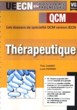 Théo Cambet et Louis Perrier - Thérapeutique - QCM.