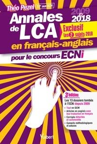 Livres en espagnol téléchargement gratuit Annales de LCA pour le concours ECNi  - 2009-2018 9782311661125 par Théo Pezel  (Litterature Francaise)