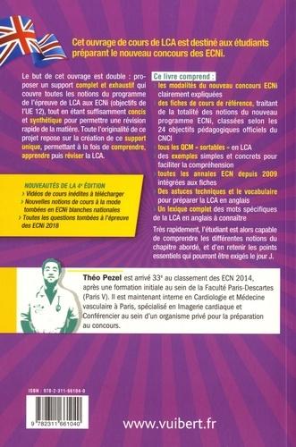 Réussir à la LCA en français-anglais pour le concours ECNI 4e édition