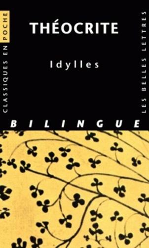 Théocrite - Idylles - Bilingue grec - latin.