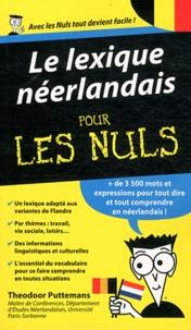 Theodoor Puttemans - Le lexique néerlandais pour les nuls.