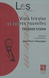 Theodor Storm - Viola tricolor et autres nouvelles.