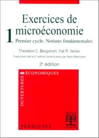 Exercices de microéconomie. - Tome 1, Premier cycle, Notions fondamentales, 2ème édition.pdf