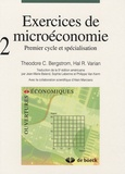 Theodore C. Bergstrom et Hal R. Varian - Exercices de microéconomie - Volume 2 : premier cycle et spécialisation.