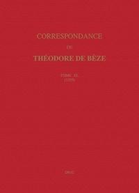 Corridashivernales.be Correspondance de Théodore de Bèze - Tome 40 (1599) Image