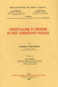Théodore Fortsakis - Conceptualisme et empirisme en droit administratif français.