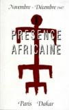 Théodore Monod et Marcel Griaule - Présence africaine.