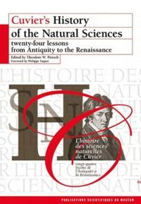 Ebooks Kostenlos télécharger deutsch L'histoire des sciences naturelles de Cuvier  - Vingt-quatre leçons de l'Antiquité à la Renaissance