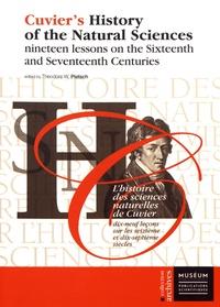 Histoiresdenlire.be L'histoire des sciences naturelles de Cuvier - Dix-neuf leçons sur les seizième et dix-septième siècles Image