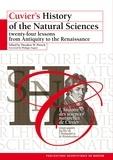 Theodore-W Pietsch - L'histoire des sciences naturelles de Cuvier - Vingt-quatre leçons de l'Antiquité à la Renaissance.