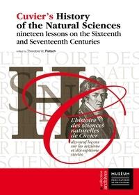Télécharger des livres audio italiens gratuitement L'histoire des sciences naturelles de Cuvier  - Dix-neuf leçons sur les seizième et dix-septième siècles