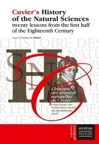 Collection de livres audio à téléchargement gratuit L'histoire des sciences naturelles de Cuvier  - Vingt leçons sur la première moitié du dix-huitième siècle 9782856538791