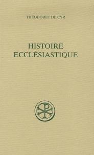 Théodoret de Cyr - Histoire ecclésiastique - Tome 1 (livres I-II).