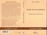 Théodule Ribot - Essais sur les passions.