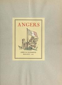 Théophile Civrays et Charles Tranchand - Angers après la tourmente - Mai-août 1944. 42 aquarelles de Charles Tranchand.