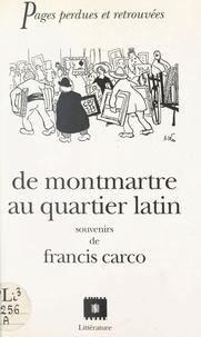 Théophile Gautier - De Montmartre au Quartier latin.